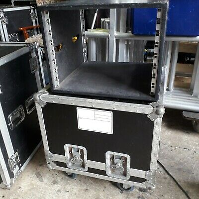 8U 19  Rack Mount Flight Case Sleeved- Equipment Rack • 75£