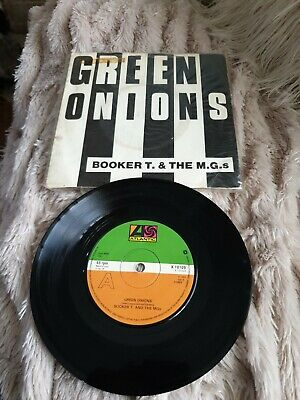 Booker T & The MGs 'Green Onions/Bootleg'  (Vinyl) 7  Very Clean • 10£