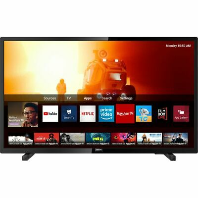 Philips TPVision 32PHS6605 32 Inch TV Smart 720p HD Ready LED Freeview HD 3 • 229£