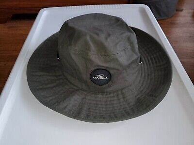 $27.99 • Buy O'Neill Mens Drift Hat Olive Green Cotton One Size Brand New