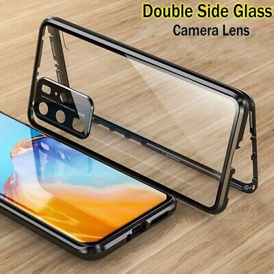 Case For Huawei P40 Pro 360° Tempered Glass Cover Magnetic Protective Adsorption • 9.99£