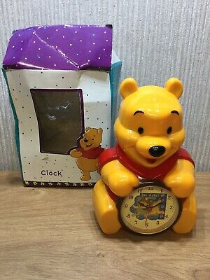 £10.95 • Buy Disney Winnie The Pooh Clock New Alarm Clock Collectable Large 8 Inch