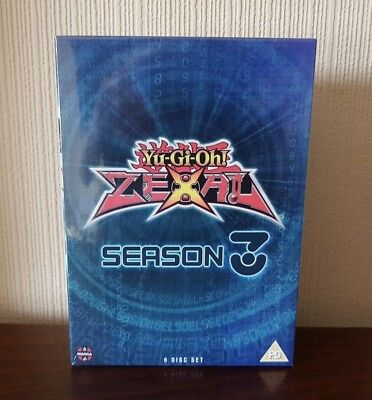 Yu-Gi-Oh! Zexal Season 3 Complete Collection (Episodes 99-144) (DVD) - Brand New • 16£