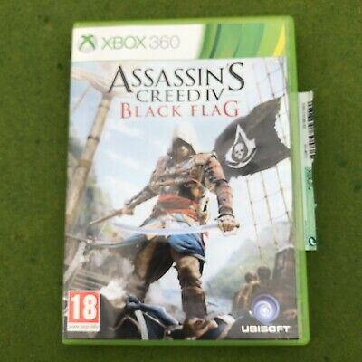 Xbox 360 Assassin's Creed IV 4 Black Flag Game Boxed With Manual - 100% Ebayer • 2.50£