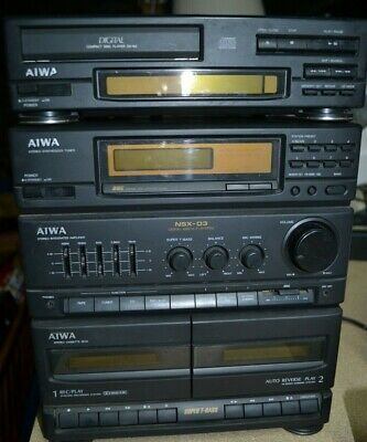 Vintage Aiwa NSX-D3 Stereo System Great Condition With CD Player & Remote • 140£