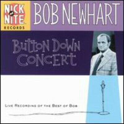 Newhart, Bob : Button Down Concert: Live Recordings Of CD FREE Shipping, Save £s • 3.98£