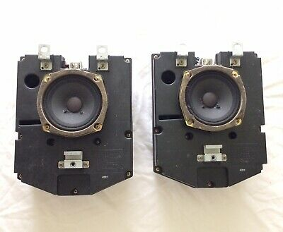 AU84.31 • Buy 90-95 Toyota 4Runner Rear Cargo Amplified Speaker Box Complete Left & Right Pair