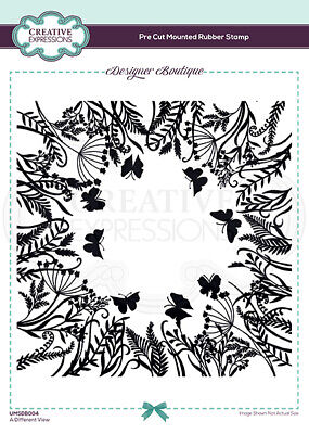 £6.26 • Buy Creative Expressions - Designer Boutique Collection - Pre Cut Rubber Stamp - A D