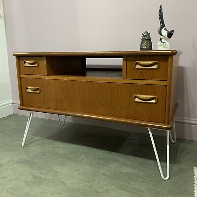 G Plan Teak Cabinet Unit Sideboard Hairpin Legs Delivery Available • 195£