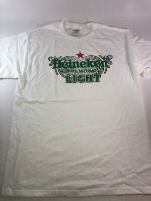 Heineken Premium Light Tshirt Size L Plus Magnet Bottle Opener • 11.89£