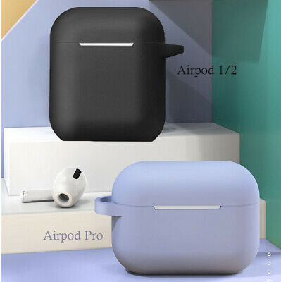 AU5.95 • Buy Shockproof Headphone Case Silicone Cover Gel Skin For Apple AirPods AirPod 1 2