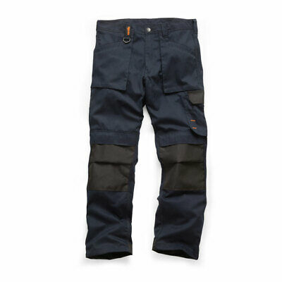 Scruffs WORKER Trousers 2019 Multi-Pocket Navy (Various Sizes) Trade Mens Work • 28.99£