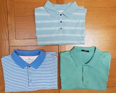 3 Mens Polo Shirts Marks And Spencer / Blue Harbour, George Size 2XL XXL • 8.50£
