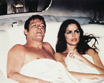 $ CDN12.27 • Buy Spy Who Loved Me Roger Moore Barbara Bach In Bed In Escape Pod 8x10 Photo