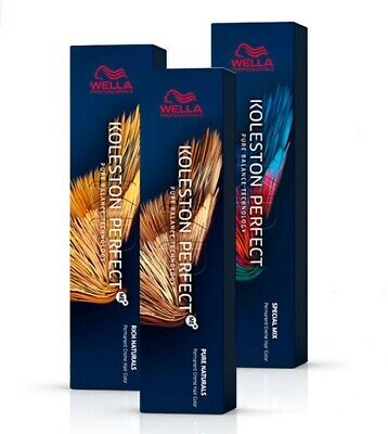 Wella Koleston Perfect Pure Naturals / Deep Browns / Rich Naturals / Vibrant Red • 7.49£