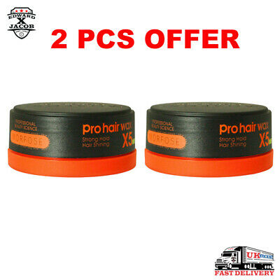 2 X MORFOSE - Pro Hair Wax - X5 Series - Strong Hold, Styling Wax - 150ml • 9.99£
