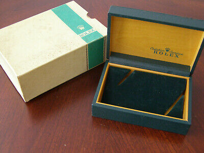 $ CDN449.45 • Buy Vintage 60s 70s Rolex White W Green Stripe Outer Box With 68.00.2 Inner Box