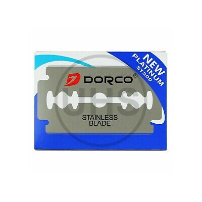 AU9.79 • Buy Dorco Stainless Double Edge Razor Blades | AUS SELLER