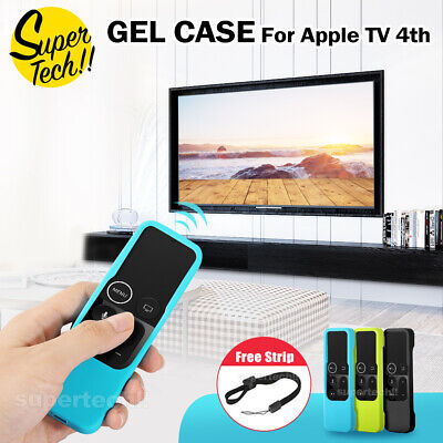 AU8.65 • Buy Remote Controller Silicone Cover For Apple TV 4th Skin Case Protective Dustproof