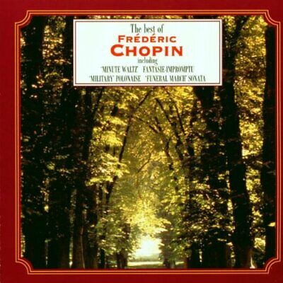 The Best Of Frederic Chopin CD (1994) Highly Rated EBay Seller Great Prices • 2£