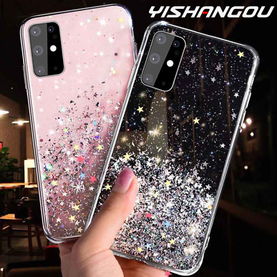 Huawei P30 P40 LITE PRO Bling Glitter Clear Gel Soft Phone Case Cover • 3.99£