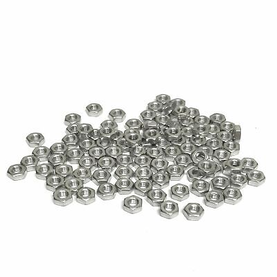 $3.15 • Buy (PKG Of 100) Metric M3 Hex Nut, A2 Stainless, M3-0.5, DIN 934, 5.5 Mm Flats