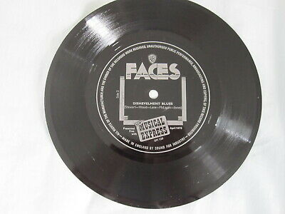 $2.48 • Buy Faces Flexi Disc Ronnie Wood Lane Kenny Jones Rod Stewart Dishevelment Blues