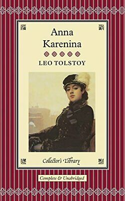 Anna Karenina (Collectors Library) By Leo Tolstoy Hardback Book The Cheap Fast • 32.99£