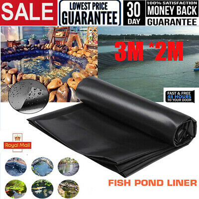 Fish Pond Liners Gardens Pools Underlaymen Membrane Reinforced Landscaping Patio • 12.99£