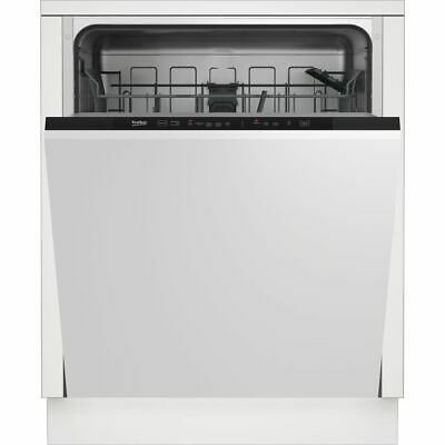 View Details Beko DIN15R20 A++ Fully Integrated Dishwasher Full Size 60cm 13 Place Silver • 249.00£