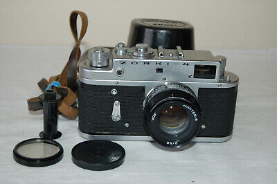 Zorki-4 Vintage 1970 Rangefinder Camera And Jupiter-8 Lens. No.70151989. UK Sale • 64.99£