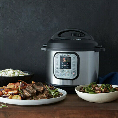 $65 • Buy Instant Pot DUO60 V3 6Qt 7-in-1 Multi-Use Programmable Pressure Cooker 3 Quart