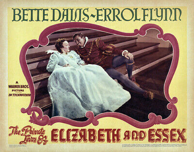 The Private Lives Of Elizabeth And Essex 1939 Historical Drama Errol Flynn Dvd • 3.50£