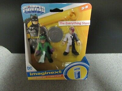 Imaginext Dc Super Friends The Riddler And Two Face • 25.03£