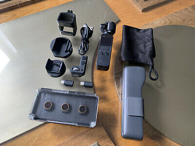 $277 • Buy DJI Osmo Pocket 3-Axis Stabilizer And 4K Handheld Camera - With EXTRAS!