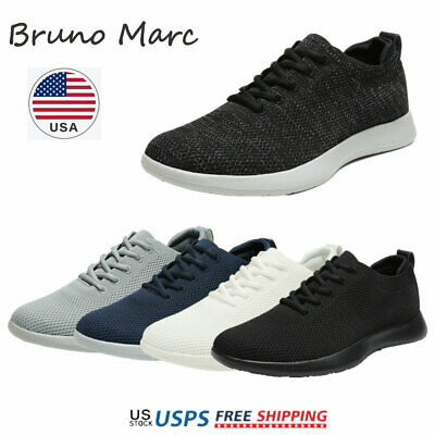 $18.89 • Buy Bruno Marc Mens Walking Shoes Breathable Fashion Sneaker Casual Shoe Size 6.5-13