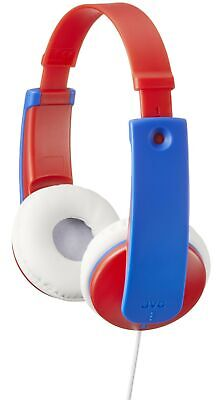 £27.99 • Buy JVC Tiny Phones Kids Stereo Headphones With Volume Limiter, Blue/Red Wired