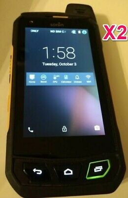$ CDN129.99 • Buy Lot Of 2 Sonim XP7 XP7700 Android Phones (Locked To Bell)