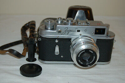 Zorki-4 Vintage 1967 Rangefinder Camera.  50 Years Version  No. 6759723. UK Sale • 69.99£