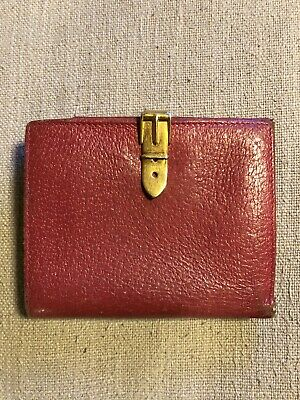 $49.99 • Buy Vintage Gucci Wallet Red With Gold Buckle Good Condition