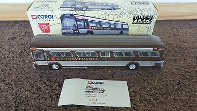 $49.99 • Buy Corgi Classics #54502 GM 5301 Pennsylvania Railroad Bus 1/50 SCALE