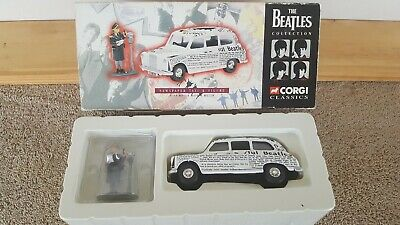 $19.99 • Buy Corgi Classics Beatles Collection Newspaper Taxi & Rita Meter Maid