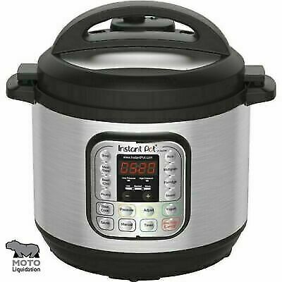 $84.70 • Buy Instant Pot IP-DUO80-V2 8-Quart 7-in-1 Multi-Use Programmable Pressure Cooker