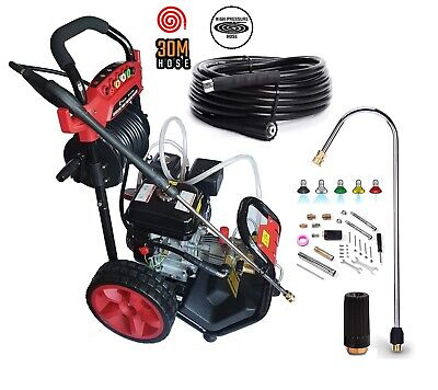 Petrol Pressure Washer  8.0HP 3950psi AWESOME POWER T-MAX 2020 PRO 30 METER HOSE • 339.95£