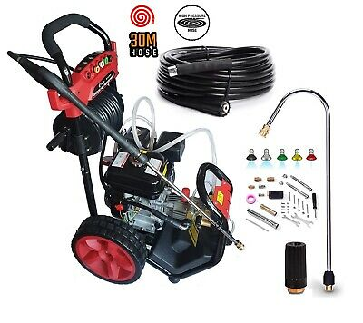 Petrol Pressure Washer  8.0HP 3950psi AWESOME POWER T-MAX 2020 PRO 30 METER HOSE • 329.95£