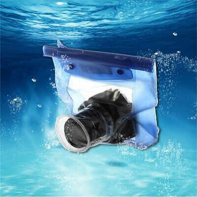 Waterproof Camera Underwater Housing Case Pouch Dry Bag For Canon CH • 4.41£