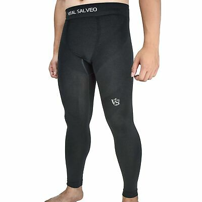 Vital Salveo- Men Compression Recovery Long Leggings Tights For Running, Work... • 71.99£