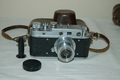 Zorki-C Vintage 1956 Soviet Rangefinder Camera. Serviced. No.56056771. UK Sale • 54.99£