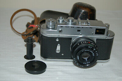 Zorki-4 Vintage 1973 Rangefinder Camera And Industar Lens. No.73653803. UK Sale • 54.99£
