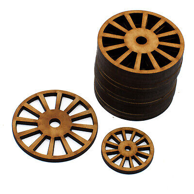 £12.25 • Buy  Cart Wheels Vintage Coach MDF Craft Shapes Wooden Gift Tags Decoration Trains